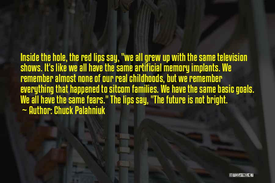 Red Lips Quotes By Chuck Palahniuk