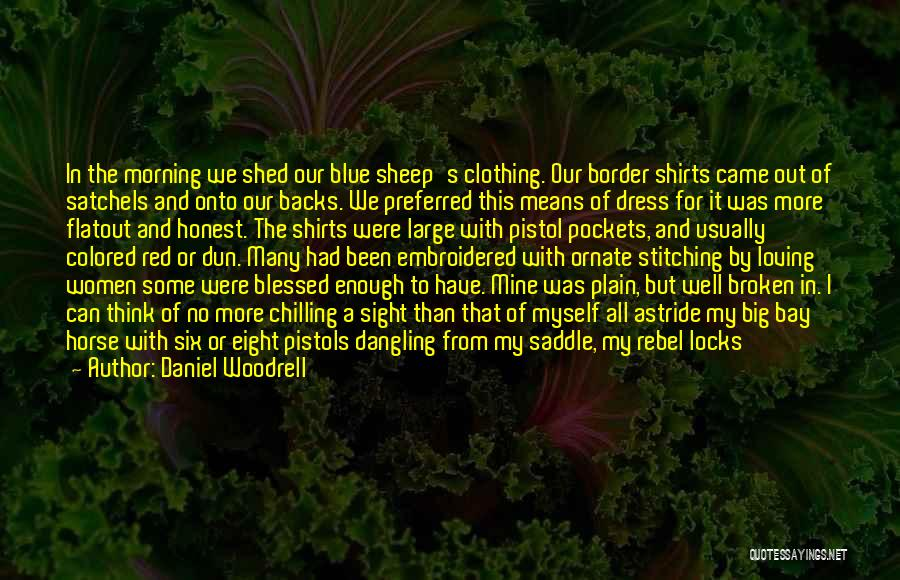 Red Lips Quotes By Daniel Woodrell
