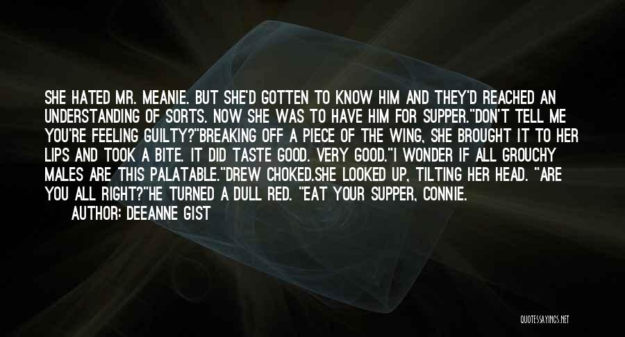 Red Lips Quotes By Deeanne Gist