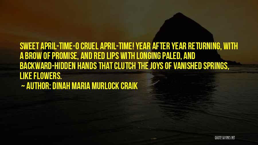 Red Lips Quotes By Dinah Maria Murlock Craik