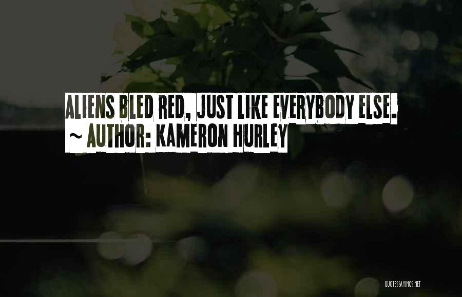 Red Lips Quotes By Kameron Hurley