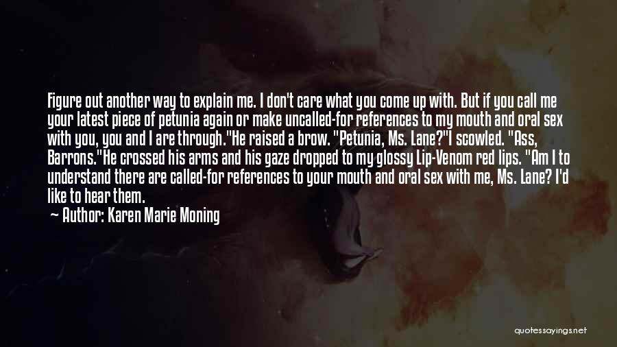 Red Lips Quotes By Karen Marie Moning
