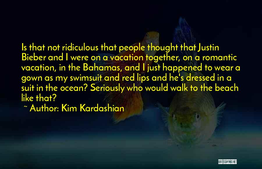 Red Lips Quotes By Kim Kardashian
