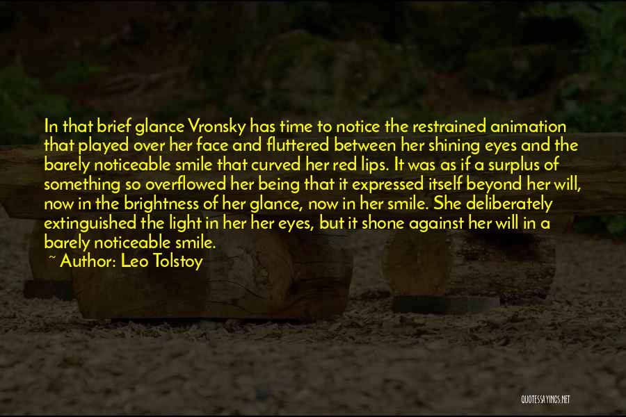 Red Lips Quotes By Leo Tolstoy