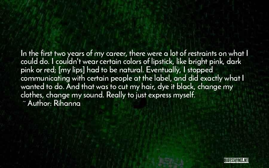 Red Lips Quotes By Rihanna