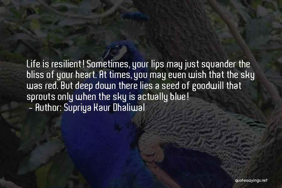 Red Lips Quotes By Supriya Kaur Dhaliwal