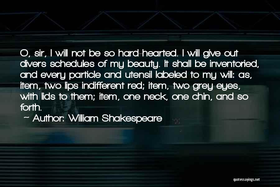Red Lips Quotes By William Shakespeare