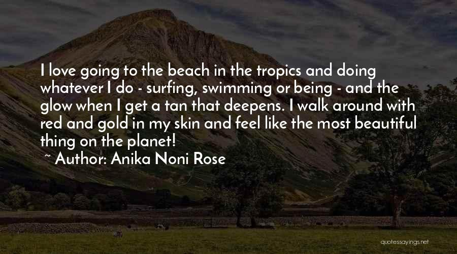 Red Rose With Love Quotes By Anika Noni Rose
