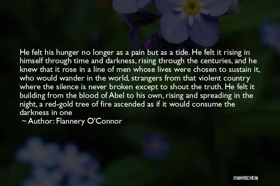 Red Rose With Quotes By Flannery O'Connor