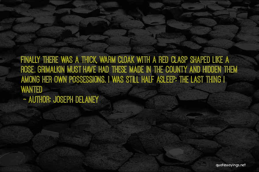 Red Rose With Quotes By Joseph Delaney