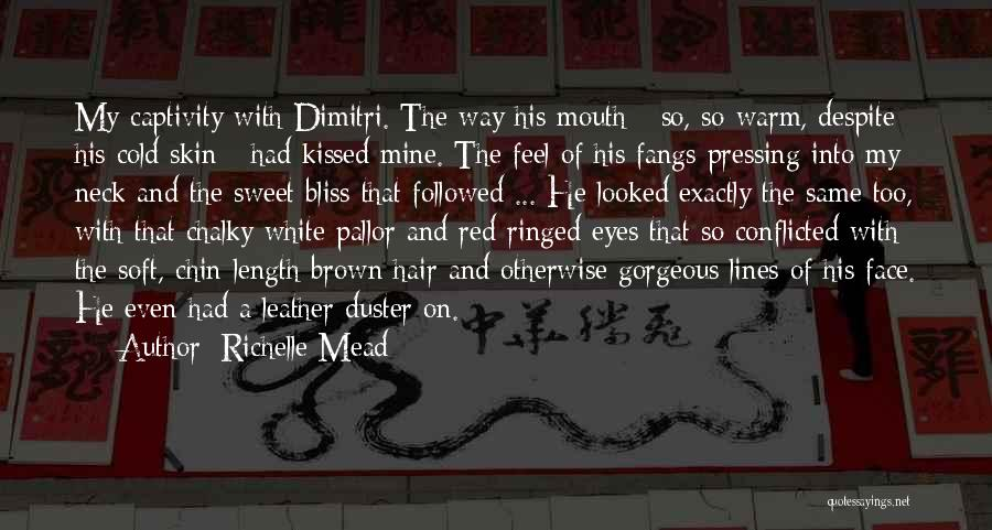 Red Rose With Quotes By Richelle Mead