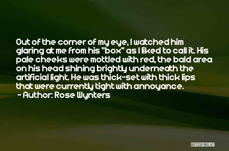 Red Rose With Quotes By Rose Wynters
