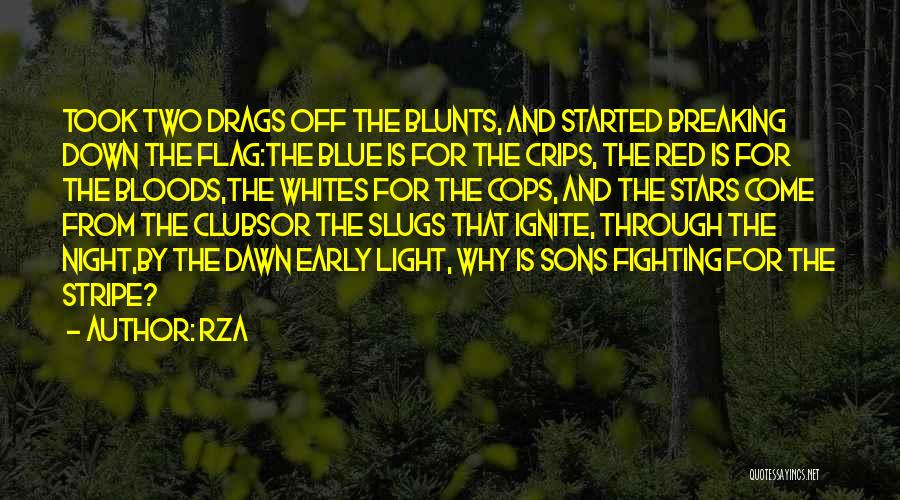 Red Stripe Quotes By RZA