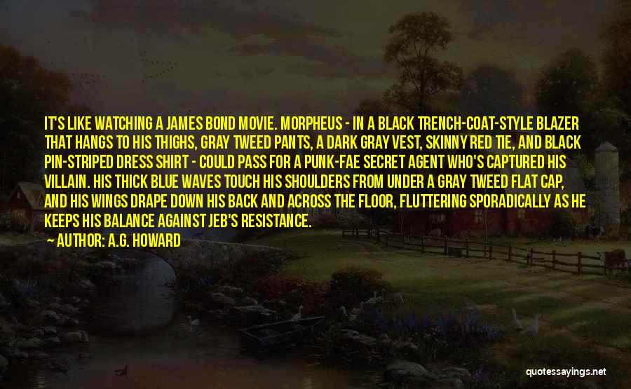 Red Tie Quotes By A.G. Howard