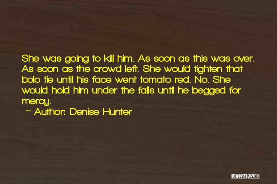 Red Tie Quotes By Denise Hunter