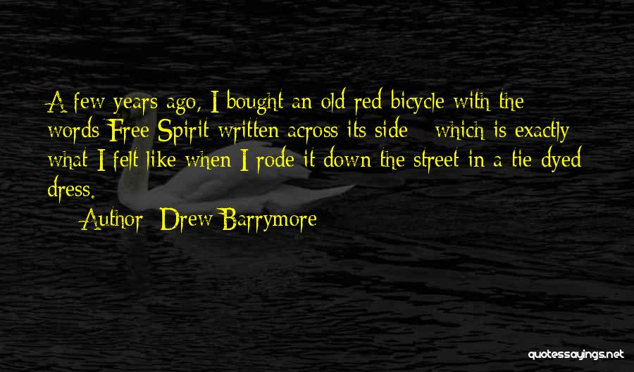 Red Tie Quotes By Drew Barrymore