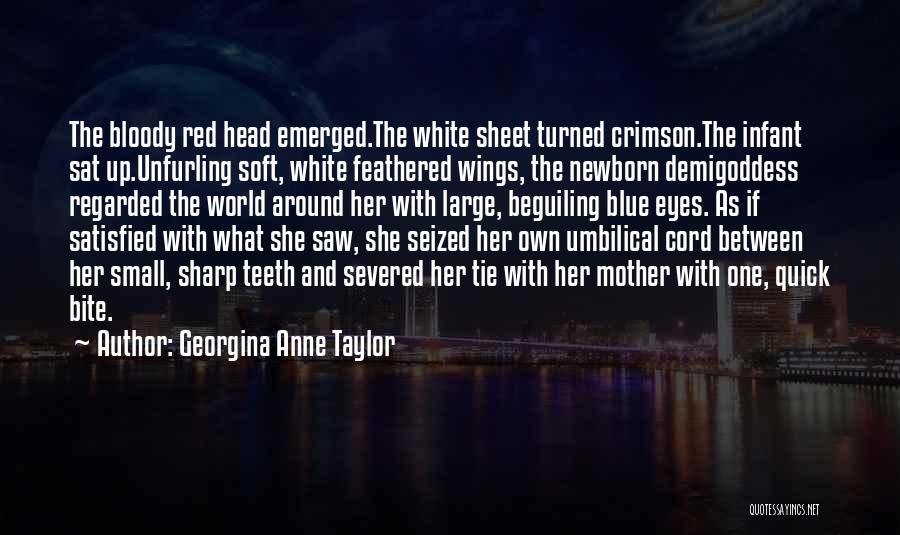 Red Tie Quotes By Georgina Anne Taylor