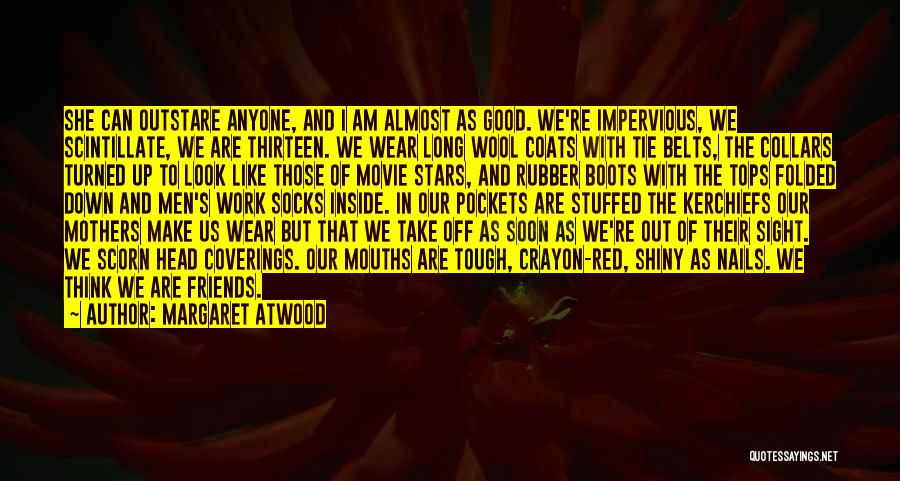 Red Tie Quotes By Margaret Atwood