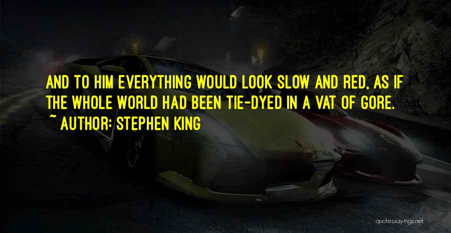 Red Tie Quotes By Stephen King