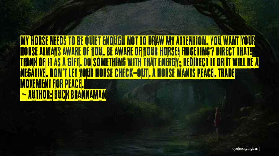 Redirect Energy Quotes By Buck Brannaman