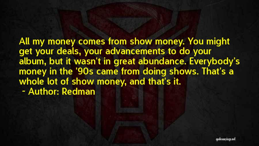 Redman Quotes 1556567