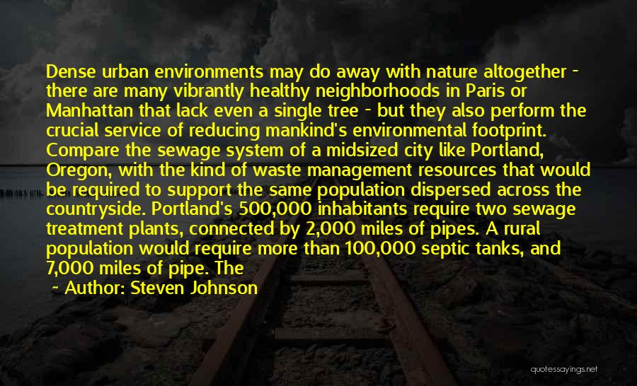 Reducing Waste Quotes By Steven Johnson
