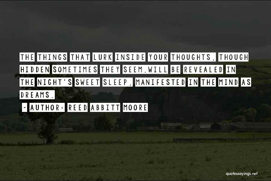 Reed Abbitt Moore Quotes 2191436