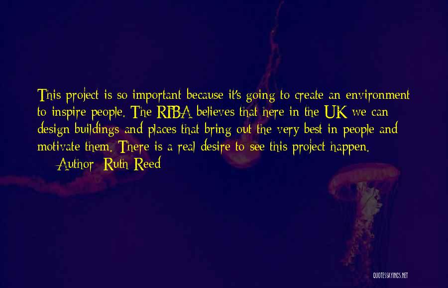 Reed College Quotes By Ruth Reed