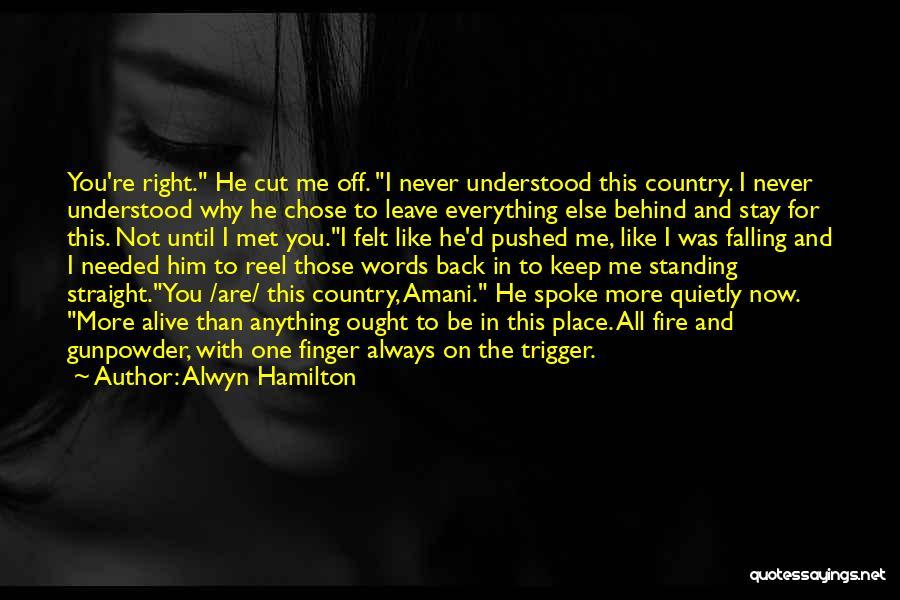 Reel Quotes By Alwyn Hamilton