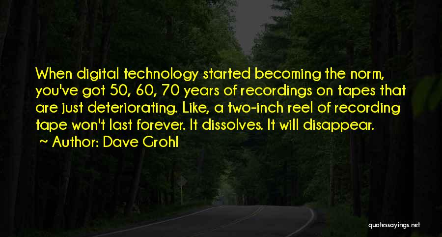 Reel Quotes By Dave Grohl