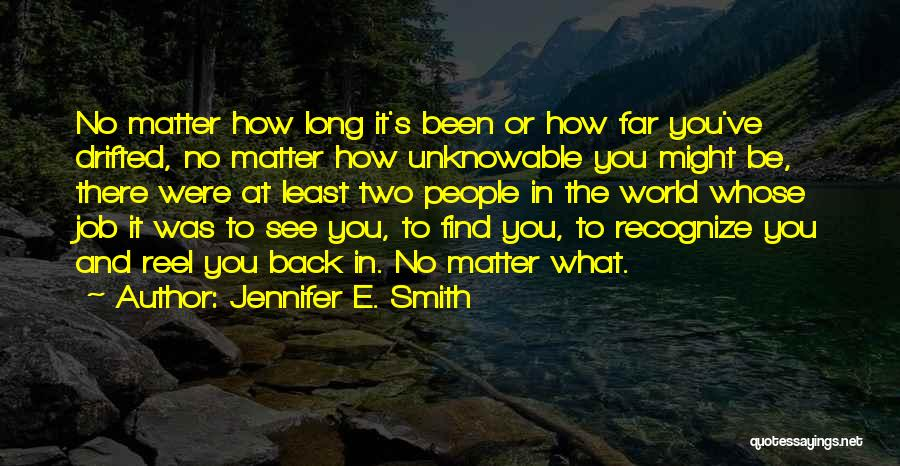Reel Quotes By Jennifer E. Smith