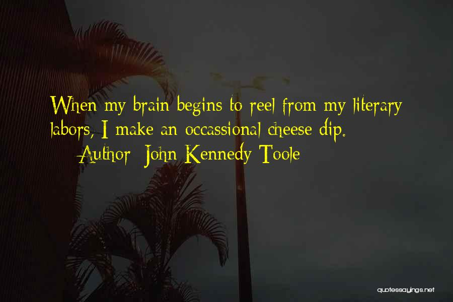 Reel Quotes By John Kennedy Toole