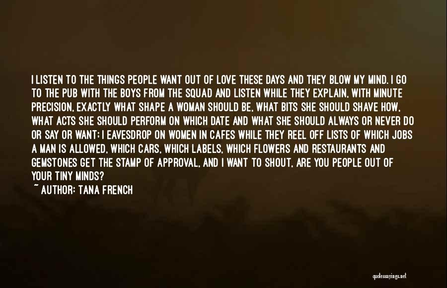 Reel Quotes By Tana French
