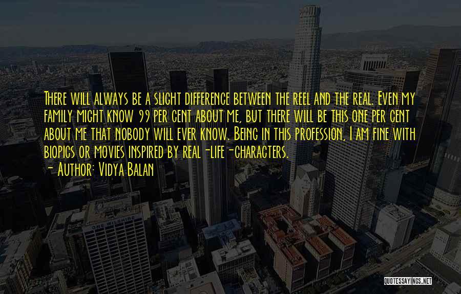 Reel Quotes By Vidya Balan