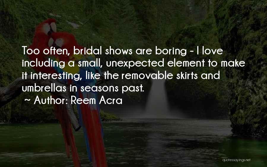 Reem Acra Quotes 2052011