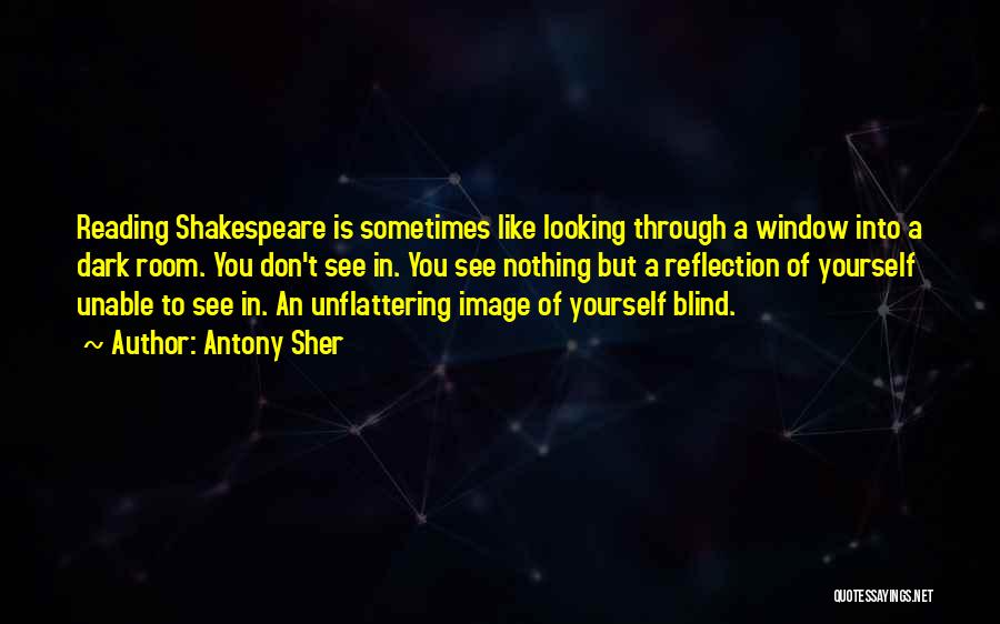 Reflection Of Yourself Quotes By Antony Sher