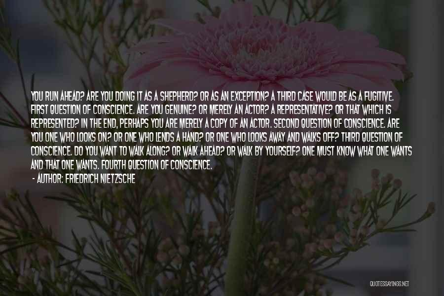 Reflection Of Yourself Quotes By Friedrich Nietzsche