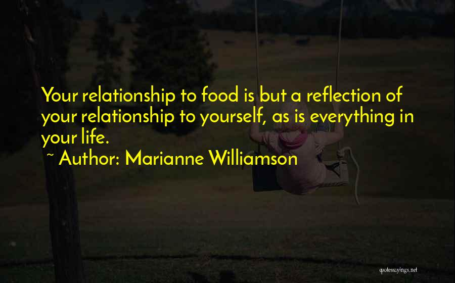 Reflection Of Yourself Quotes By Marianne Williamson