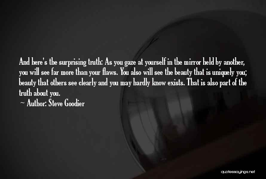 Reflection Of Yourself Quotes By Steve Goodier