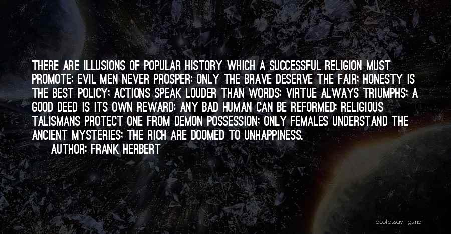 Reformed Quotes By Frank Herbert