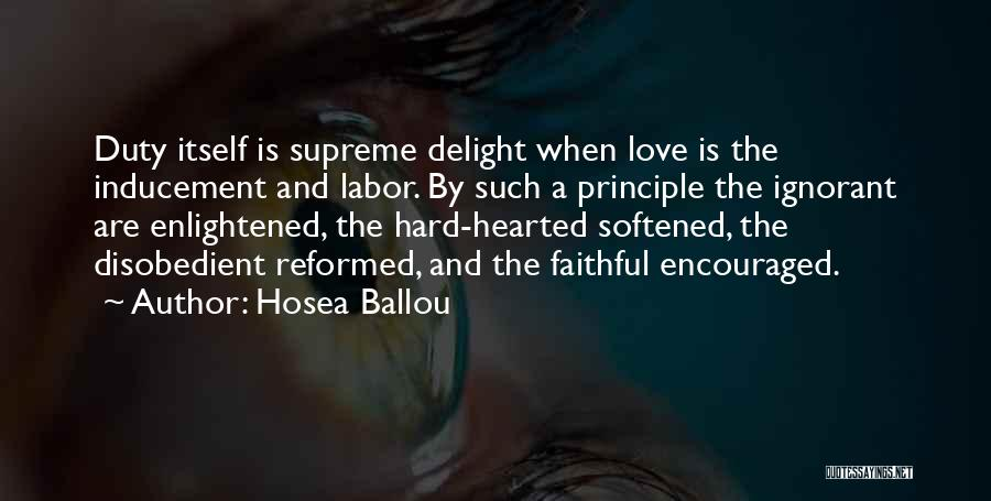 Reformed Quotes By Hosea Ballou