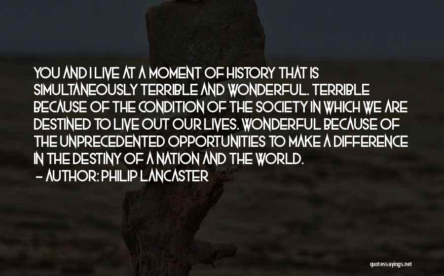 Reformed Quotes By Philip Lancaster