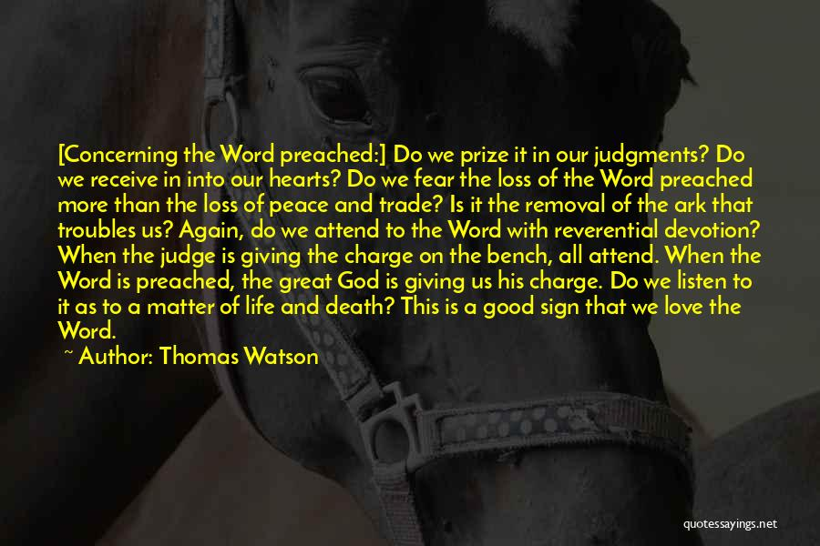 Reformed Quotes By Thomas Watson