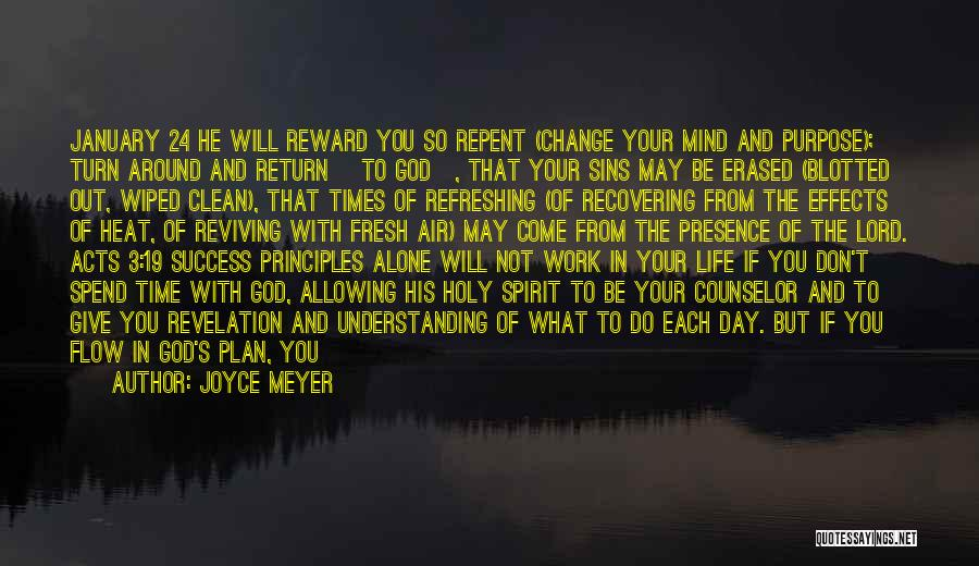 Refreshing My Life Quotes By Joyce Meyer