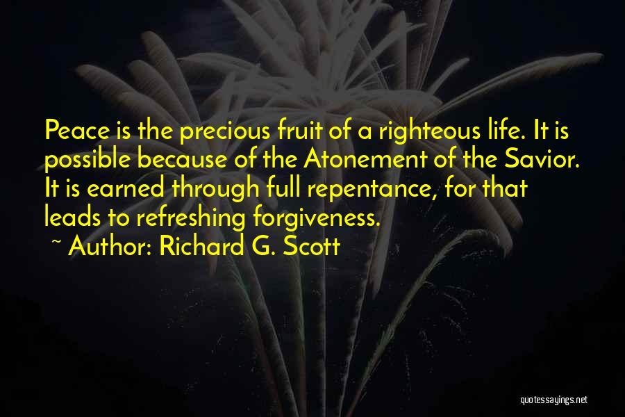 Refreshing My Life Quotes By Richard G. Scott