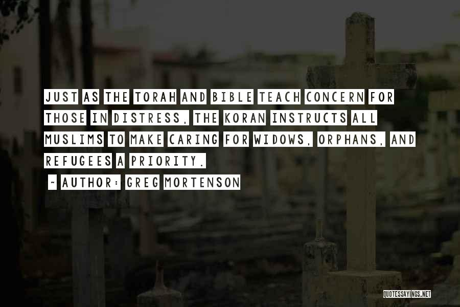 Refugees In The Bible Quotes By Greg Mortenson