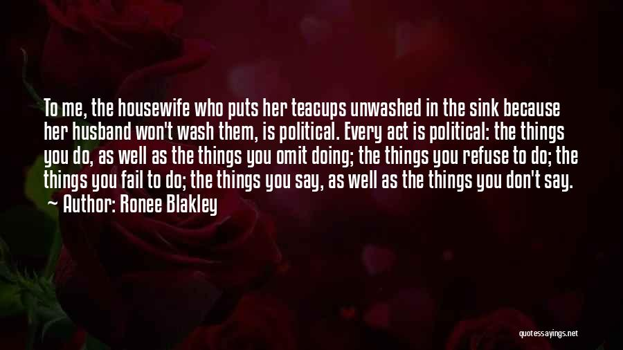 Refuse To Sink Quotes By Ronee Blakley