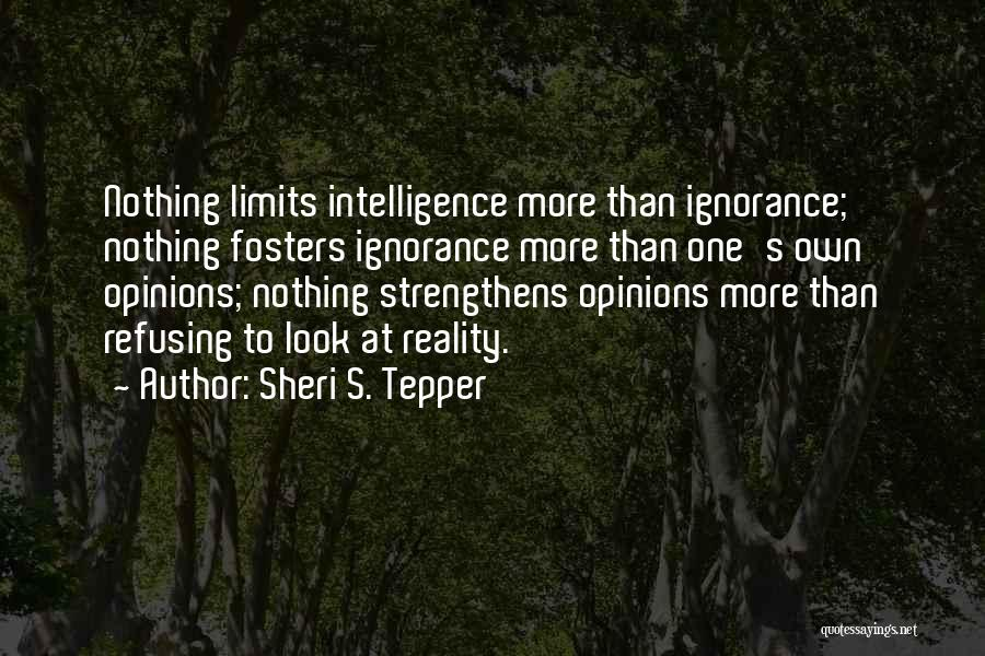 Refusing Someone Quotes By Sheri S. Tepper