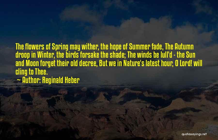 Reginald Heber Quotes 580883