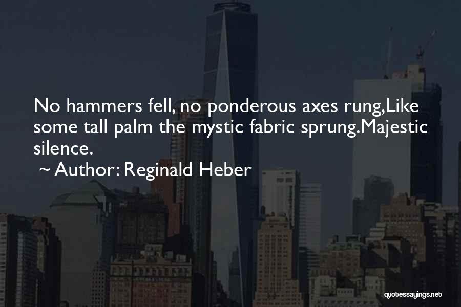 Reginald Heber Quotes 698814